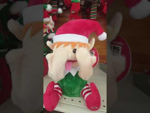 Silly Christmas elf