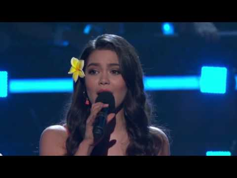 """How Far I'll Go"" Alessia Cara, Auli'i Cravalho & Jordan Fisher 
