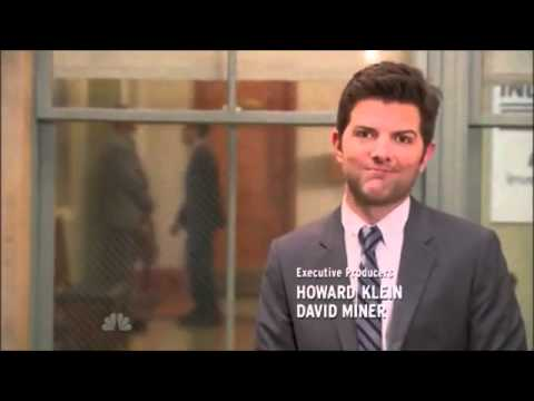Ben Wyatt tells an accounting joke