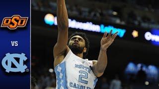 North Carolina vs. Oklahoma State Men's Basketball Highlights (2016-17)