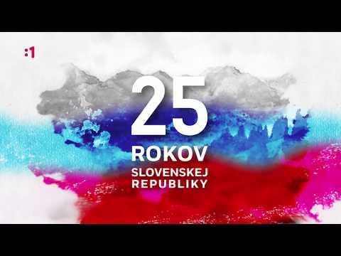 25. výročie vzniku Slovenskej republiky s RTVS