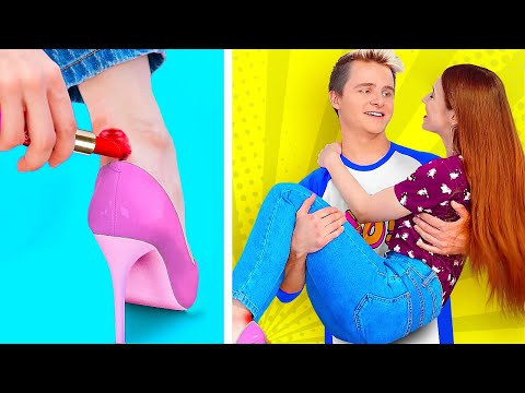 LAZY HACKS FOR SMART GIRLS! || Genius Life Hacks For Lazy People by 123 Go! Genius