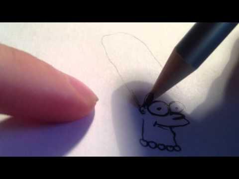 Marge Simpson zeichnen / Comic- Figur malen