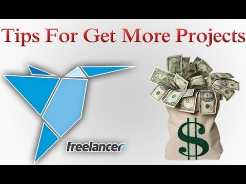 how to bid on projects in freelancer.com
