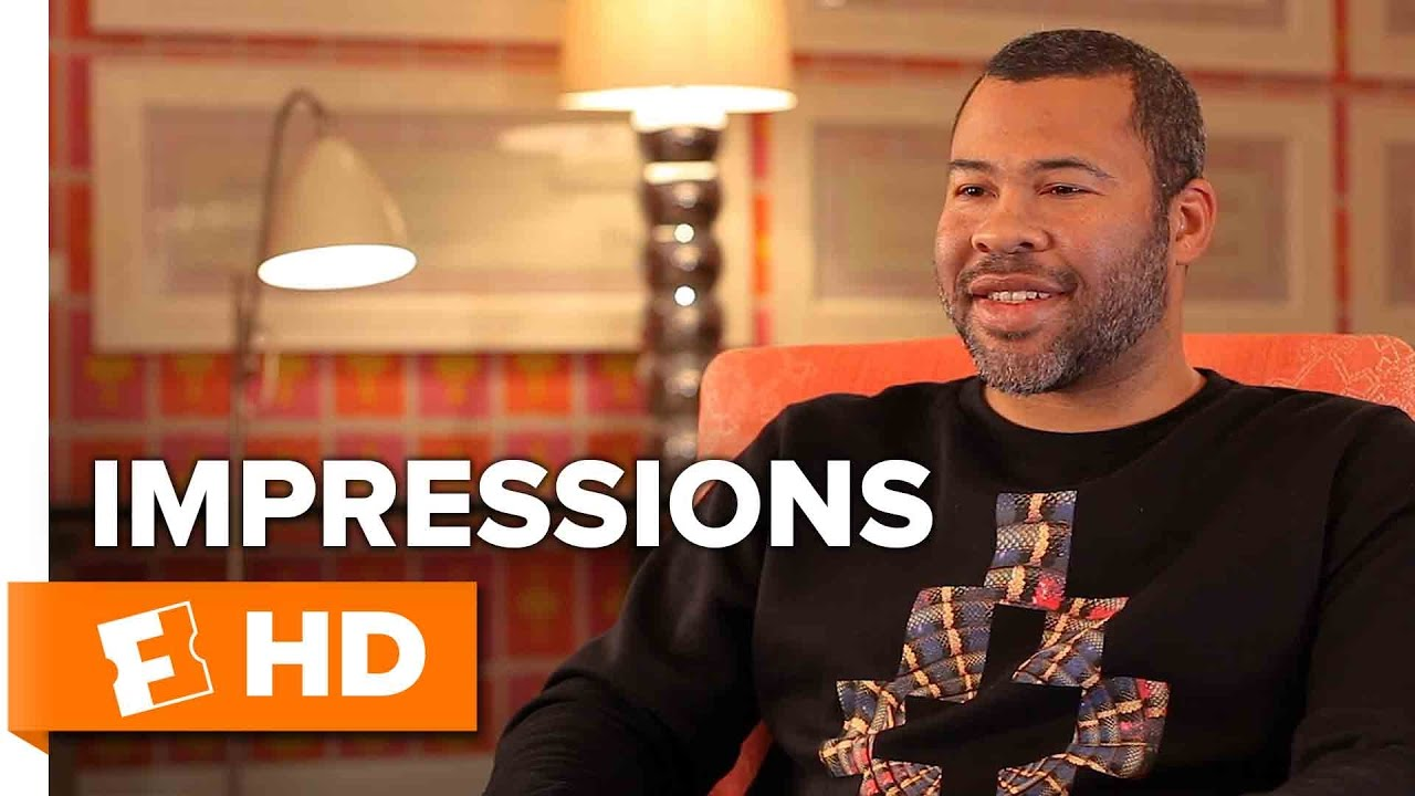 Jordan Peele Impersonates Celebrities Reacting to