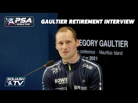 Squash: Greg Gaultier Retirement Interview
