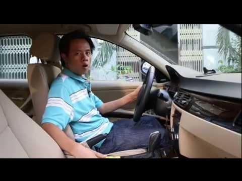 Tư thế ngồi đúng khi lái xe