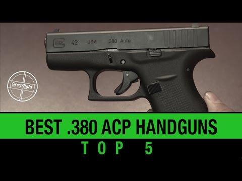 Top 5 Best 380 ACP Handguns