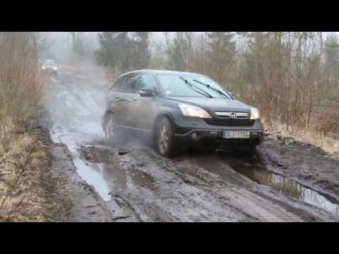 2012 Honda CR V - Honda CRV 2012 in hard off-road conditions. Latvia, Kurzeme. More about 4x4 tours in Latvia - http://4x4tourism.com/