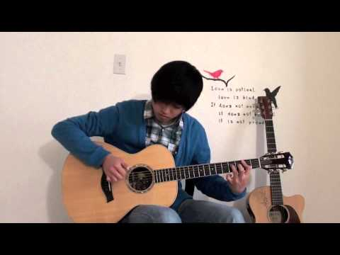 Sungmin Lee: Big Bang – 'Blue' – Acoustic Fingerstyle Guitar Cover