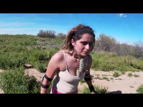 Biker Falls Into Cactus Bush