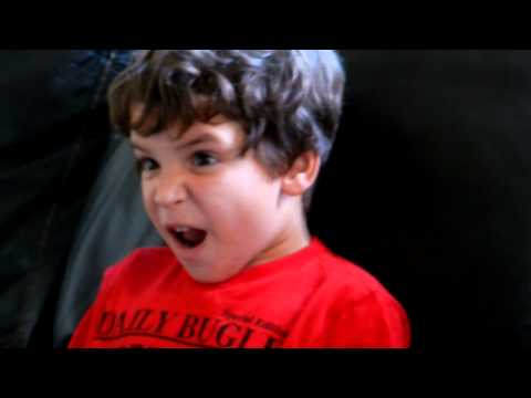 4 Year Old's Reaction To Empire Strikes Back