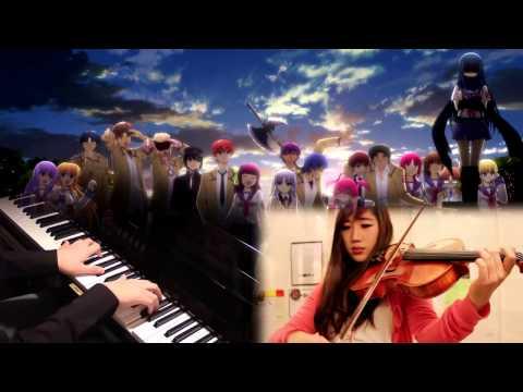 Brave Song (full) - Angel Beats ED [Piano/Viola] feat. xclassicalcatx (видео)