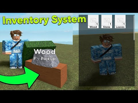 How to Make An Inventory System in Roblox Studio видео