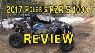 8. 2017 Polaris RZR S 1000 EPS REVIEW and WALKAROUND