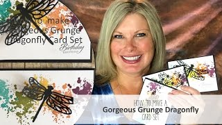 """Free pdf, and card details: http://stampwithtami.com/blog/2017/05/stampin-up-gorgeous-grunge/This video was live on Facebook, be sure to follow my Facebook page to be notified of future lives: https://www.facebook.com/stampwithtami1/This is a quick and easy card set, and the versatile words in the Wetlands stamp set make it good for all occasions. Perfect to make a bunch of these at one time, then have them on hand when an occasion arises. Download the free card set pdf below.The Gorgeous Grunge stamp set was on our Top 10 """"must have"""" Retiring Products. These splatter images work on so many projects. It's been a staple in my stamp collection for many years.  It is sadly being discontinued in a couple of weeks (May 31 or while supplies last).Be sure to join my social media Tami WhiteStampin' Up! Independent Demonstrator✪ STAY CONNECTED ✪Blog: http://www.stampwithtami.com Facebook: http://www.facebook.com/stampwithtami1 Pinterest: http://www.pinterest.com/stampwithtamiPeriscope: https://periscope.tv/stampwithtamiTwitter: http://twitter.com/stampwithtami Weekly Newsletter: http://ow.ly/Vp8eb Bloglovin: https://www.bloglovin.com/blogs/stamp-with-tami-3137650"""