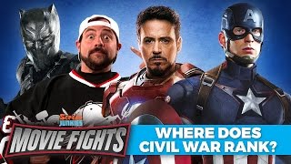 Where Does Civil War Rank in the MCU? (w/ Kevin Smith!) - MOVIE FIGHTS!! by Screen Junkies