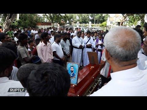 سريلانكا: تشييع جثامين ضحايا تفجيرات عيد الفصح في كولومبو