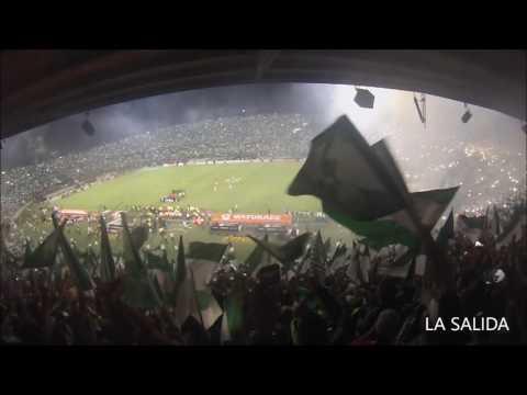 La final desde la tribuna!! Nacional Campeón Copa Libertadores 2016 - Los del Sur - Atlético Nacional - Colombia - América del Sur