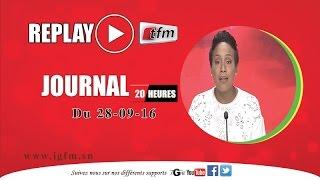 JT DE 20H DE LA TFM DE CE MERCREDI 28 SEPTEMBRE 2016