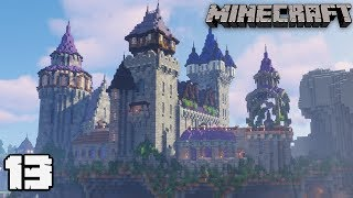 Let's Build a Castle #13 ITS DONE! : MINECRAFT 1.13.2 Survival Let's Play