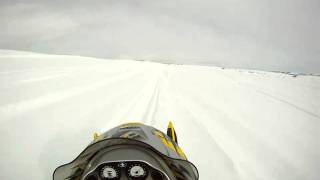 8. Testing the GoPro on my Polaris 800 RMK 151 Snowmobile