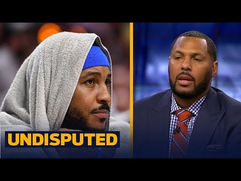 Eddie House: Melo needs to 'swallow his pride' for the Rockets to be successful  NBA  UNDISPUTED