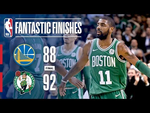 Warriors vs Celtics - Best Plays From The Thrilling 4th Quarter in Boston | November 16, 2017 (видео)