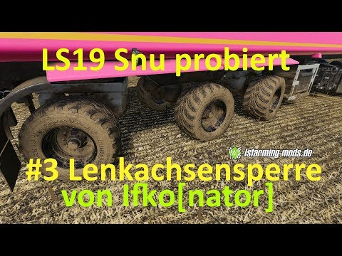 Lock steering axle v1.0.0.0