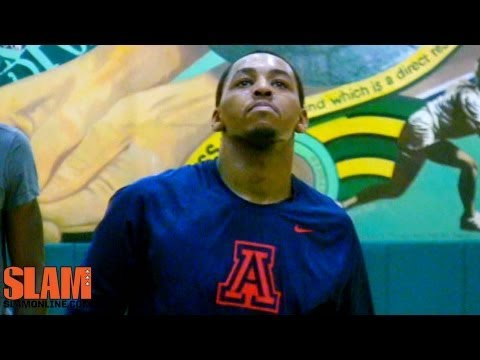 basketball - Mark Lyons is training for the 2013 NBA Draft in LA and showed his combination of skill and athleticism during his NBA Draft Workout. Lyons knocked down coun...
