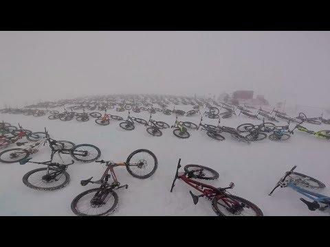 Mountain of Hell Downhill Race Start