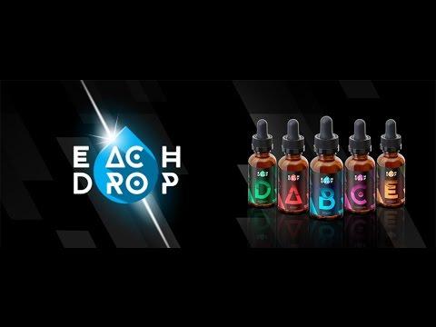 #Первый обзор жидкости для вейпинга Each Drop !