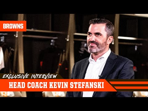 Exclusive Interview w/ New HC Kevin Stefanski   Cleveland Browns