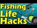 Fishing life hacks #Lifehack 20 лайфхаков для рыбалки