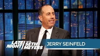 Video Jerry Seinfeld Does Not Want to Be Here - Late Night with Seth Meyers MP3, 3GP, MP4, WEBM, AVI, FLV Juli 2018
