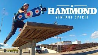"""Hammond Longboards - Free Ride Star 39"""" LMT longboard"""