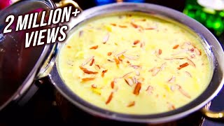 How To Make Rabri At Home | Rabdi Recipe | Ramzan Special Recipe | Ruchi's Kitchen