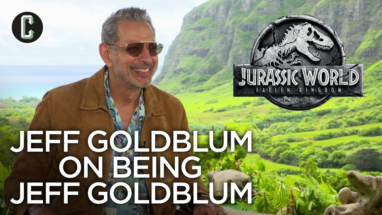 Jeff Goldblum on What It's Like Being Jeff Goldblum