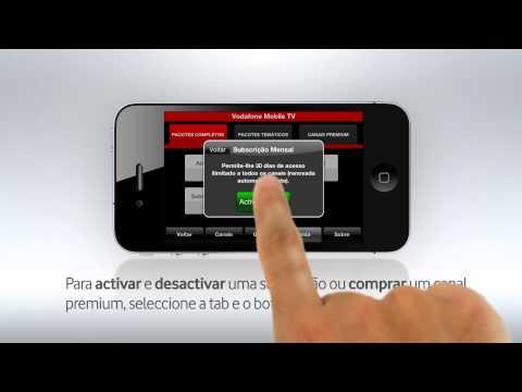 Video of Vodafone Mobile TV