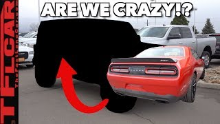 We Traded Our 707 HP Dodge Challenger Hellcat For a 2.0L Four Cylinder...Here's Why! by The Fast Lane Car
