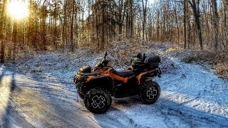 4. Snow Ride - 2016 Can Am Outlander 1000R Limited Edition