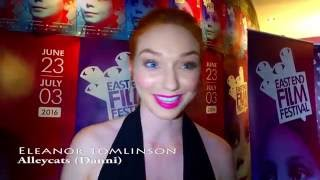 Nonton Eleanor Tomlinson Interview  Alleycats Film  Eastend Film Festival 2016 Film Subtitle Indonesia Streaming Movie Download