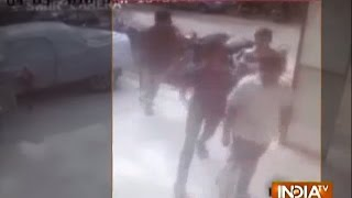 Jamnagar India  city photo : Caught on Camera: Showroom Owner's Driver Murdered in Jamnagar