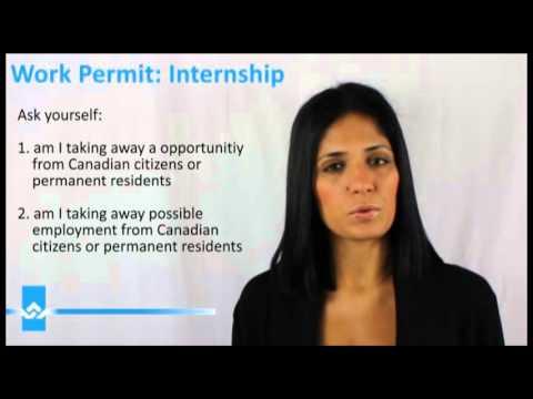 Canada Work Permit Internship Video