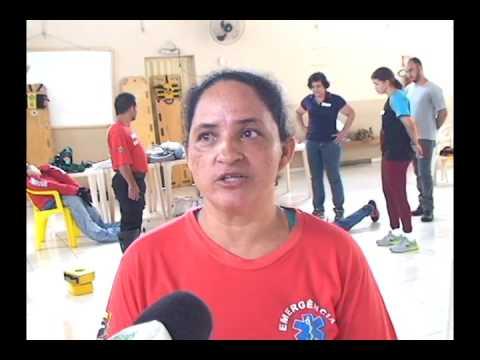 Profissionais da área de saúde em Martinho Campos treinam para atuarem no Samu, que será implantado
