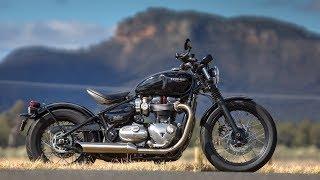 7. Triumph Bonneville Bobber Review