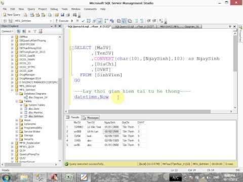 VD05 - Các hàm SQL thông dụng