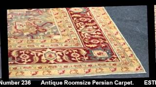 Antique Persian Carpet | Carpets | Clarke Auction Gallery