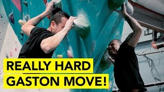 HOW TO DO THIS DYNAMIC GASTON MOVE PLUS MORE CLIMBING TIPS! by  rockentry