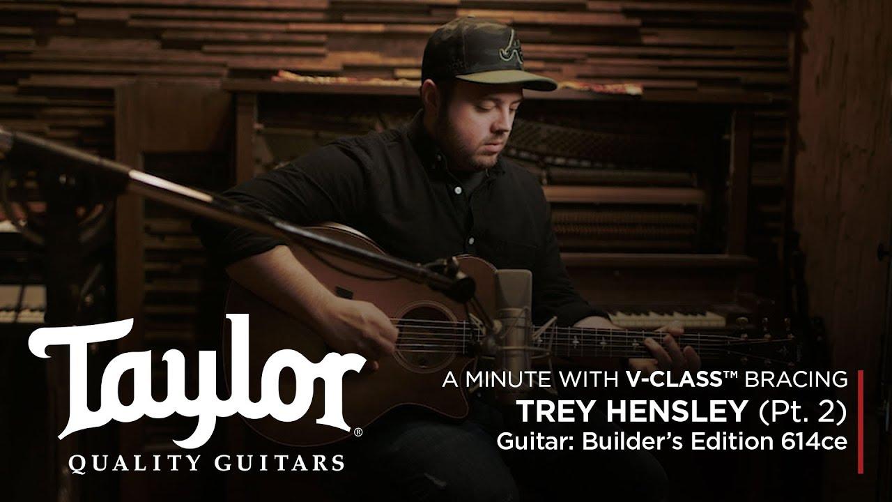 V-Class™ Acoustic Guitar Bracing | Trey Hensley (Pt. 2)